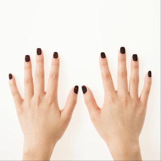 Wacky nail art nail wraps zazzle dark wacky retro swirl minx nail art prinsesfo Image collections