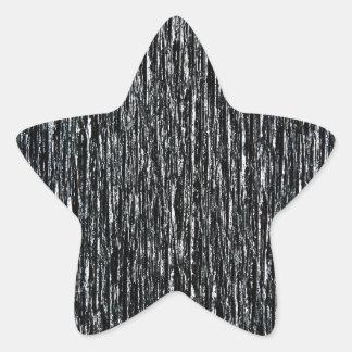 Dark Wall Rustic Rigid Tough Wall Art Fashion Grey Star Sticker