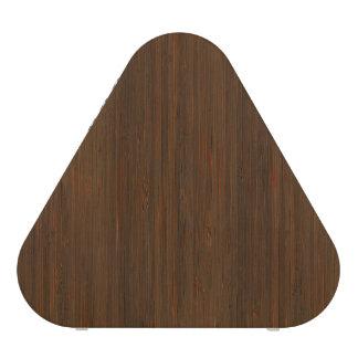 Dark Walnut Brown Bamboo Wood Grain Look Speaker