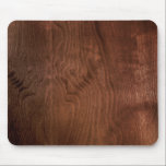 """Dark Walnut Plywood Mousepad<br><div class=""""desc"""">A fabulous dark walnut plywood. Sit back and breath in a touch of walnut with this luxurious addition to any Mad Men&#39;s (or woman&#39;s) desk.</div>"""