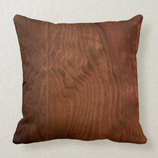 Dark Walnut Plywood Pillow