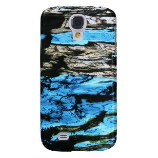 Dark Water waves Drops Crystal Clear Fine glass ti Galaxy S4 Case