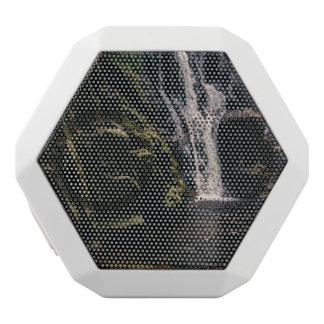 Dark Waterfall and A Lake, Nature Photograph White Boombot Rex Bluetooth Speaker