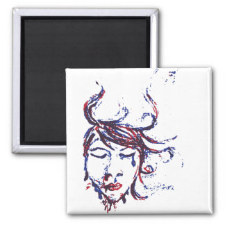 dark waters 2 inch square magnet
