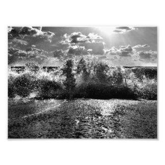 Dark Waves Photo Print