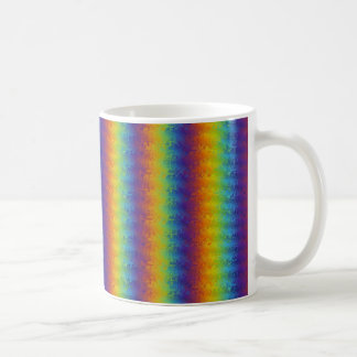 Dark Wavy Rainbow Mug