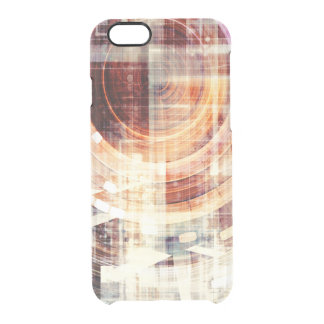 Dark Web Internet as a Technology Concept Clear iPhone 6/6S Case
