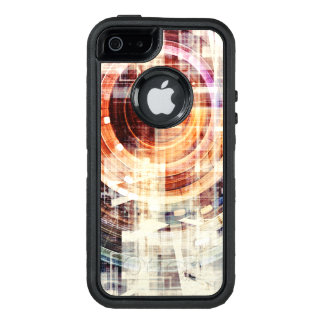 Dark Web Internet as a Technology Concept OtterBox Defender iPhone Case