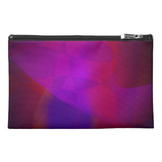 Dark Wine Simple Abstract Composition Travel Accessories Bag