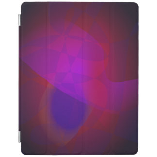 Dark Wine Simple Abstract Composition iPad Cover