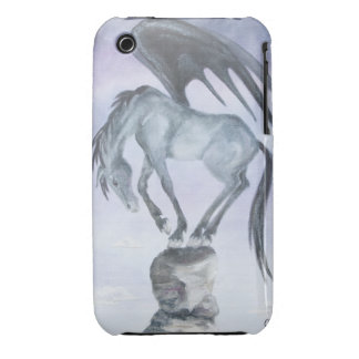 Dark Winged Fantasy Horse iPhone 3G/3GS Case