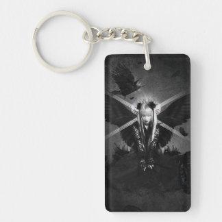 Dark witches Double-Sided rectangular acrylic keychain