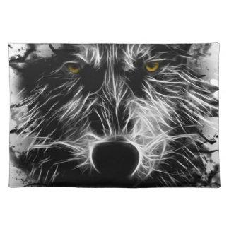 Dark Wolf Place Mat