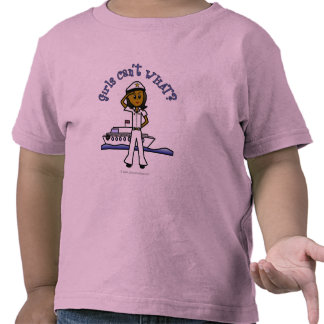 Dark Woman Captain T-shirts