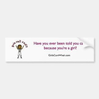 Dark Woman Football Referee Bumper Stickers