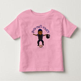 Dark Woman Umpire Toddler T-shirt