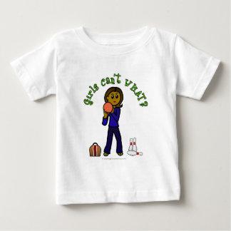 Dark Womens Bowling Baby T-Shirt