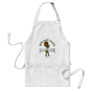 Dark Womens Boxing Adult Apron