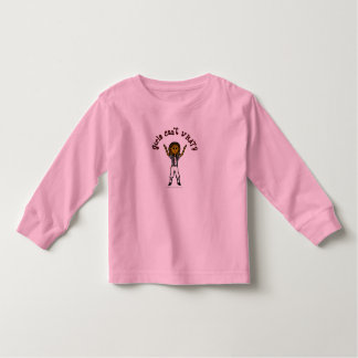 Dark Womens Football Referee Toddler T-shirt
