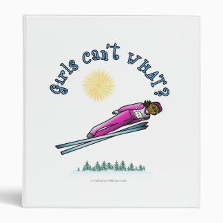 Dark Women's Ski Jumping Binders