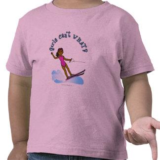 Dark Womens Water Skiing Tee Shirts
