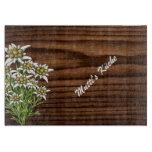 Dark Wood and Edelweiss Custom