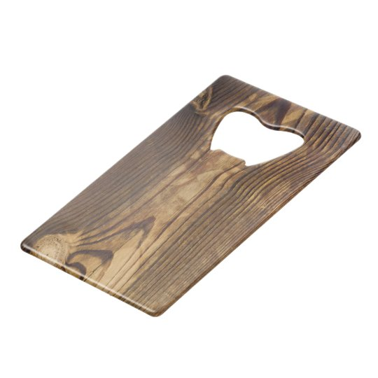 Dark wood board credit card bottle opener zazzle dark wood board credit card bottle opener colourmoves
