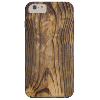 dark wood board tough iPhone 6 plus case