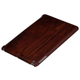 Dark Wood Grain Hard shell iPad Air Case. iPad Air Cases