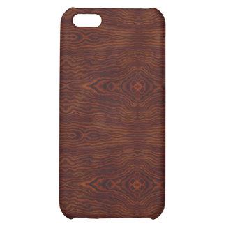 Dark Wood Look iPhone4 iPhone 5C Cover