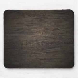 Dark Wood Panel Mousepad