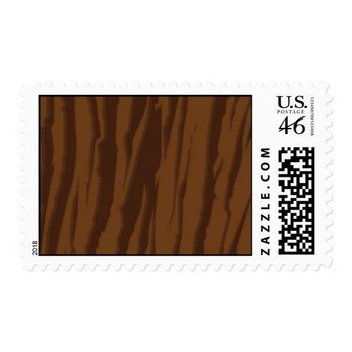 Dark Wood Postage