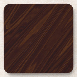 Dark Wood Texture Coaster