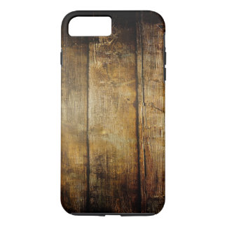 Dark Wood Tough iPhone 7 Plus Case