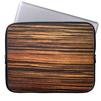 Dark Wood Veneer Computer Sleeve