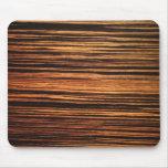 Dark Wood Veneer Mouse Pad