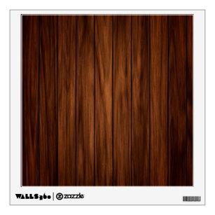 Dark Wood Wall Decal & Dark Wood Wall Decals u0026 Wall Stickers | Zazzle