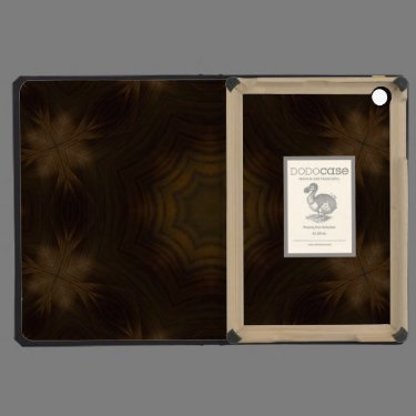 Dark wooden pattern iPad mini cases