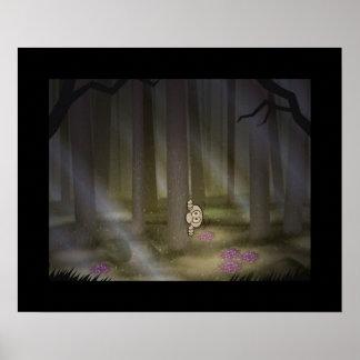 Dark Woods Print