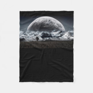 Dark World Fleece Blanket