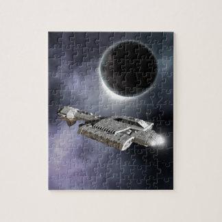 Dark World - Science Fiction Battle Cruiser Puzzles
