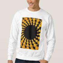 Dark Yellow Fractal Sweatshirt