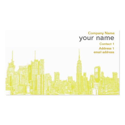 Nyc Business Cards 800 Nyc Business Card Templates
