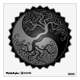 Dark Yin Yang Tree Room Stickers