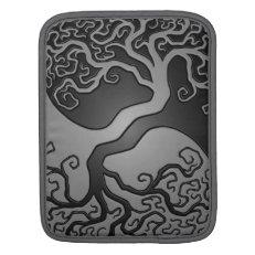 Dark Yin Yang Tree Sleeve For iPads