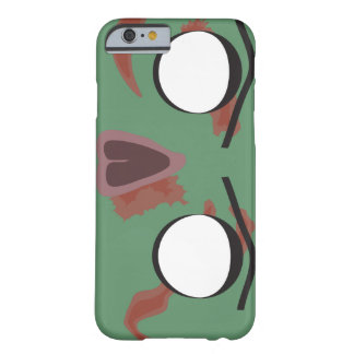 Dark Zombie Face Barely There iPhone 6 Case
