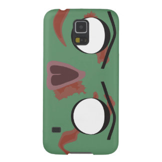 Dark Zombie Face Galaxy S5 Cover