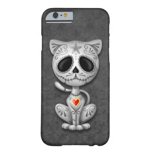 Dark Zombie Sugar Kitten iPhone 6 Case