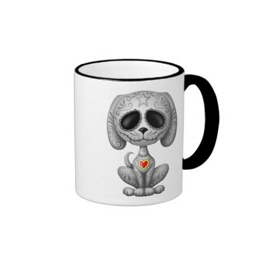 Dark Zombie Sugar Puppy Coffee Mug