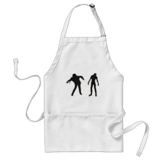 Dark Zombies Adult Apron